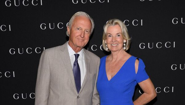 Galen Weston and wife Hilary Weston attend the Gucci Hosted Private Screening And Cocktail Party With James Franco To Present