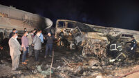 20 dead after bus and truck collide in Egypt