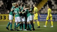 NI women's football win