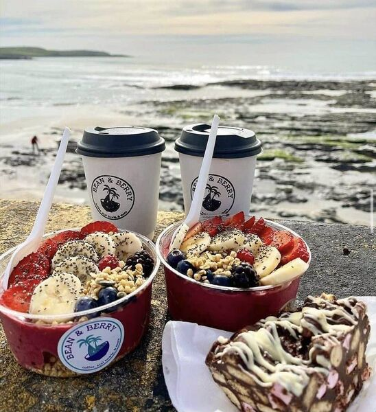Bean & Berry's seaside smoothie bowls.
