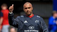 Simon Zebo file photo