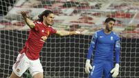 Edinson Cavani shows his worth as United ease into Europa League last four