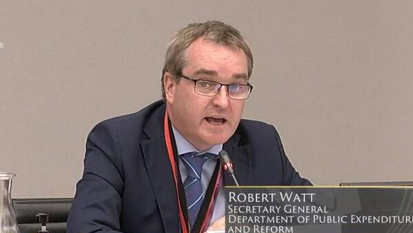 Robert Watt's confirmation as the new Secretary General of the Department of Health was a ready-up, says Michael Clifford.