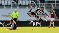 Newcastle United v West Ham United - Premier League - St James' Park