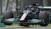 Hamilton hails 'the most perfect lap' after securing 99th pole at Imola