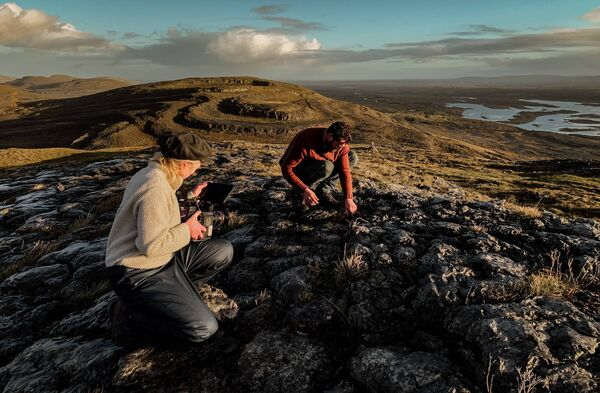 The story of the discovery of the reindeer bone fragment was revealed as part of 'The Burren: Heart of Stone'  documentary by Lahinch-based filmmaker Katrina Costello.