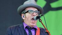 Costello sings anti-Thatcher song at Glastonbury
