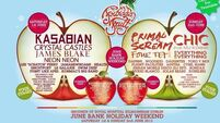 Kasabian top the bill on first day of Forbidden Fruit