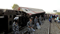 Egypt Train Crash