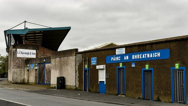 'Walsh Park in Waterford was a nightmare. Nowhere to park, up the side of the street and then behind the goal at the dressing-room end all the TV companies would have their trucks parked. No room at all.' Picture: Matt Browne/Sportsfile