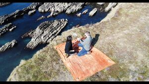WATCH: Man proposes to girlfriend on West Cork clifftop with drone delivering the ring