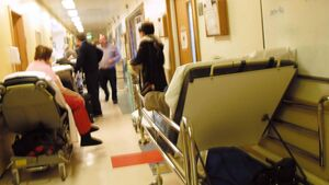 Emergency department overcrowding 'breaches human rights'