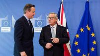 'I should not have listened to David Cameron' says Jean-Claude Juncker