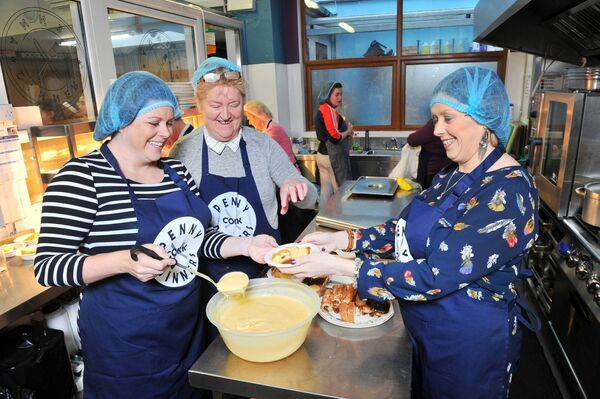 Cork's Penny Dinners provides up to 2,000 dinners a week to those in need in the city. Picture: Daragh Mc Sweeney/Provision