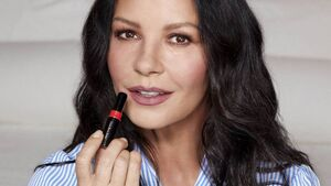 Catherine Zeta-Jones: I practically came out of the womb wearing make-up