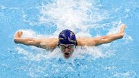 Irish Short Course Swimming Championships - Day 2
