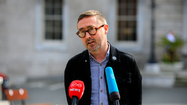 "<p>Sinn Fein spokesperson on housing Eoin O Broin said the party is ""very keen to continue engagement"" with the Data Protection Commission on how the party targets people on Facebook and whether it gathers more information than is necessary while doing so. 	Photo:Gareth Chaney/Collins</p>"