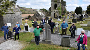 Almost a tonne of rubbish cleared from historic Cork cemetery