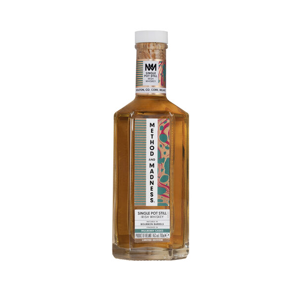 Method & Madness Single Pot Still Mulberry Cask, 46% ABV, 70cl — €95
