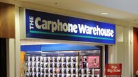 Carphone Warehouse to close all its Irish stores