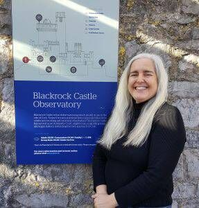 Blackrock Castle Observatory's education and outreach officer, Frances McCarthy