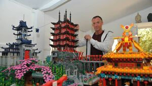 Corkman's Lego empire more than six years in the making
