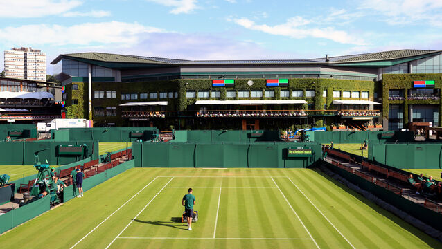 <p>The All England Club is confident the grass can hold up to 14 days of play (Adam Davy/PA)</p>