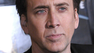 Nicolas Cage doesn't go chasing waterfalls