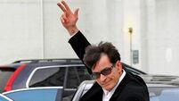 Sheen in 'Anger Management' quit threat