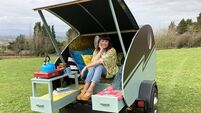 Tipperary woman built a mobile tiny, tiny house during lockdown
