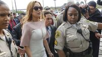 Clothing firm drops Lohan after recent court appearances