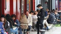 Hospitality Sector Industry In Crisis Economic Effects Outdoor Diners