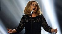 Adele and Streisand 'bond' over food