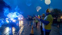 Watch: Blue and Amber parade in Kinsale to mark Darkness into Light