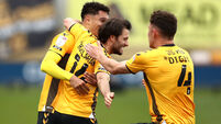 Cambridge United v Grimsby Town - Sky Bet League Two - Abbey Stadium