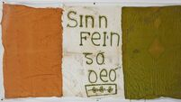 Last letter written by Republican Kevin Barry and sketch by JFK up for sale