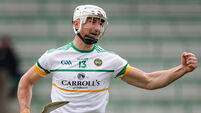 Oisín Kelly celebrates scoring the opening goal of the game 9/5/2021
