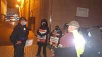 Former Debenhams staff removed from blockade after 4-hour standoff