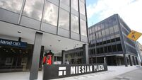 Miesian Plaza Baggot Street Lower