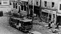 Wreaths laid at site of Dublin-Monaghan bombings, 40 years on