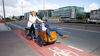 Cork city 'pedals' a new delivery method