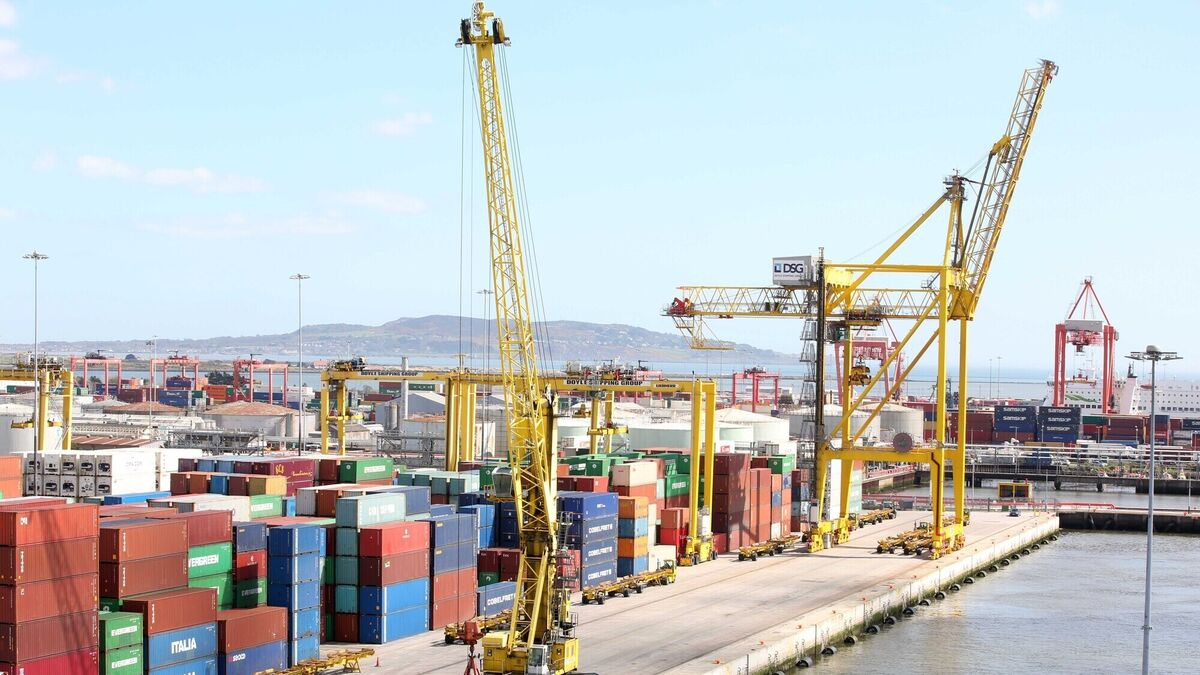 Most imports passing Dublin and Rosslare checks but full impact of Brexit not yet clear