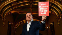Davy Fitzgerald launches Marie Keating Campaign to Give Bladder Cancer the Red Card