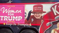 UK royals request doctored image of Queen be removed from 'Trump train' bus