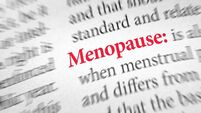 Definition of the word Menopause in a dictionary