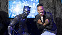 Black Panther wax figure