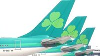 Aer Lingus strike under way