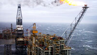 North Sea oil report