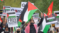 Palestine solidarity march - London
