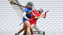 Aine Slattery collides with Amy O'Connor 15/5/2021